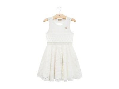 Vestido Off White Milon - 3